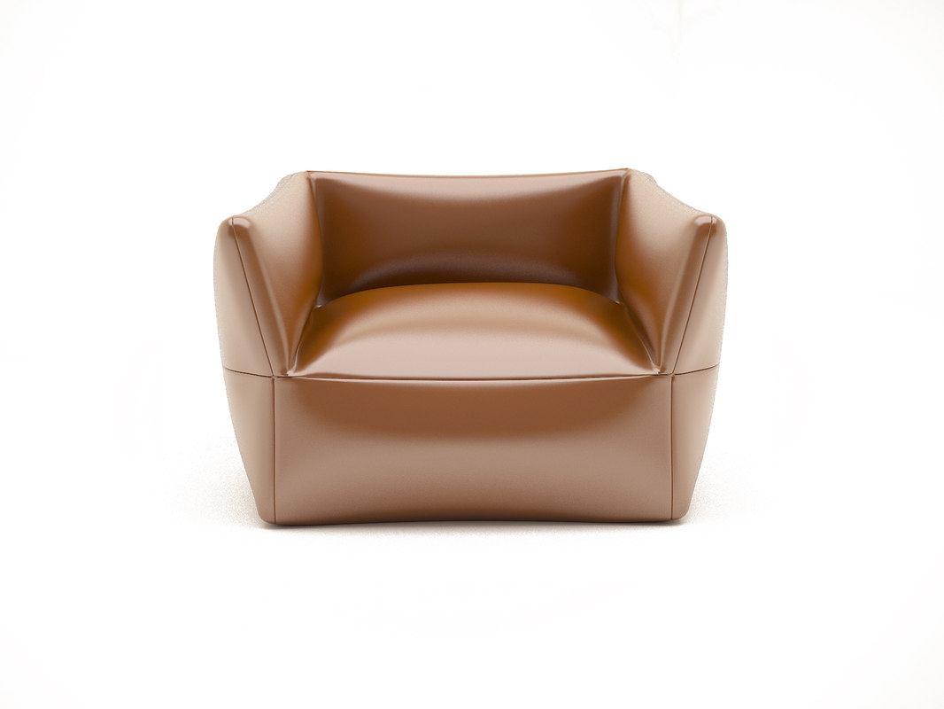 3D model leather