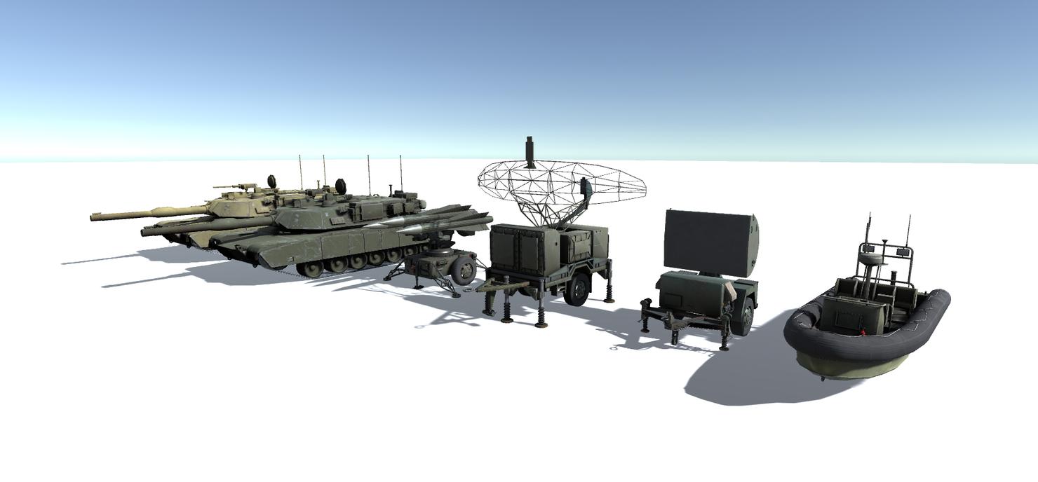 pack missile radar model