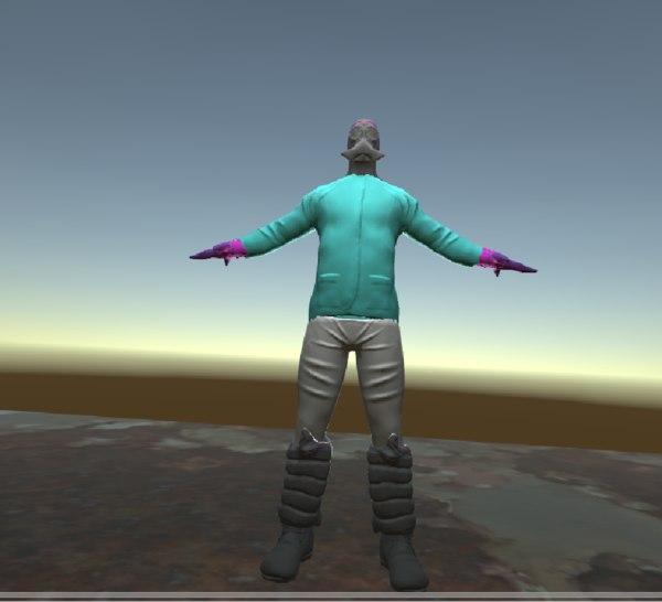 cosplay alien model