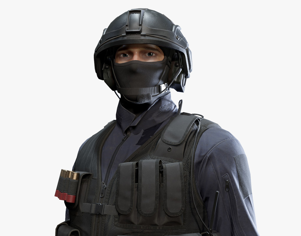 3D army man model