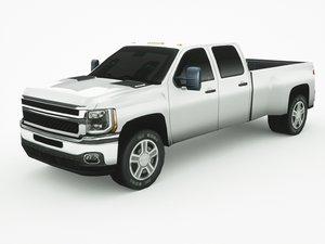 generic pickup v5 3D model