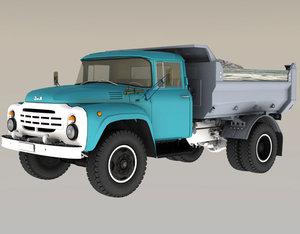 zil130 mmz4505 3D model