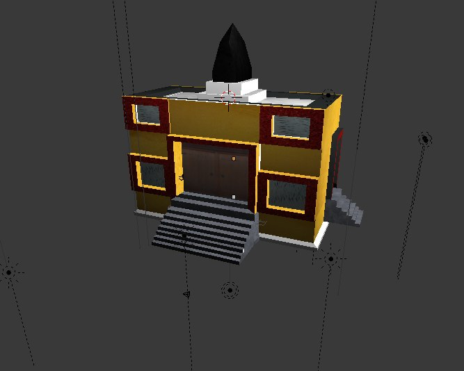 house library model