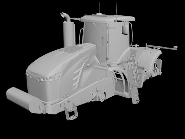 tractor challenger mt900e 3D