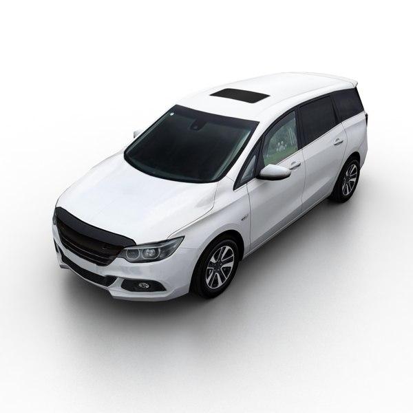 generic minivan 3D model