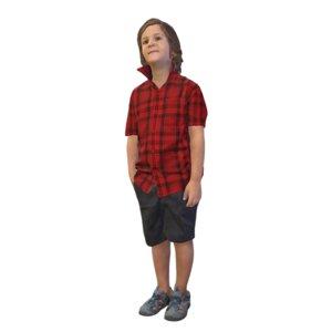 3D kid standing
