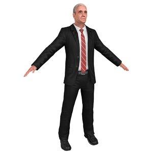 man manager 3D model