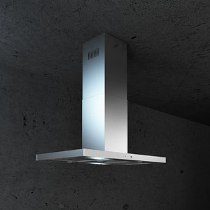 3D kitchen hood model