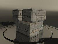 3D tech warehouse chest