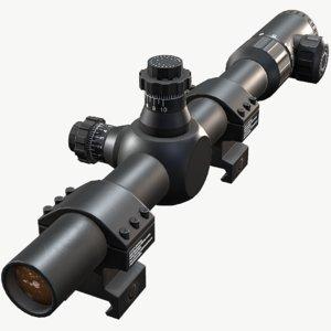 sniper scope 3D