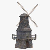 games medieval 3D model