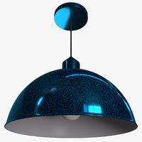 Ceiling Pendant Lamp - iridescent paint
