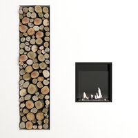 3D fireplace antonio lupi model