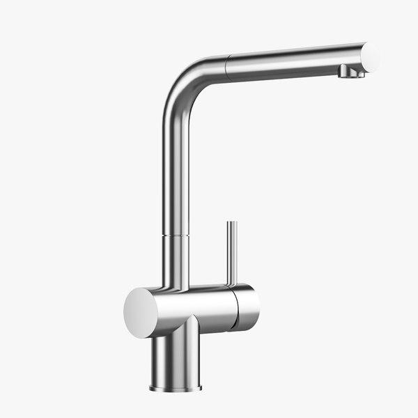 3D taps sink design model
