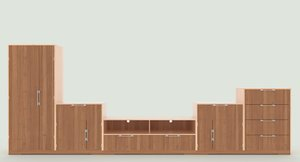 3D tv stand 75