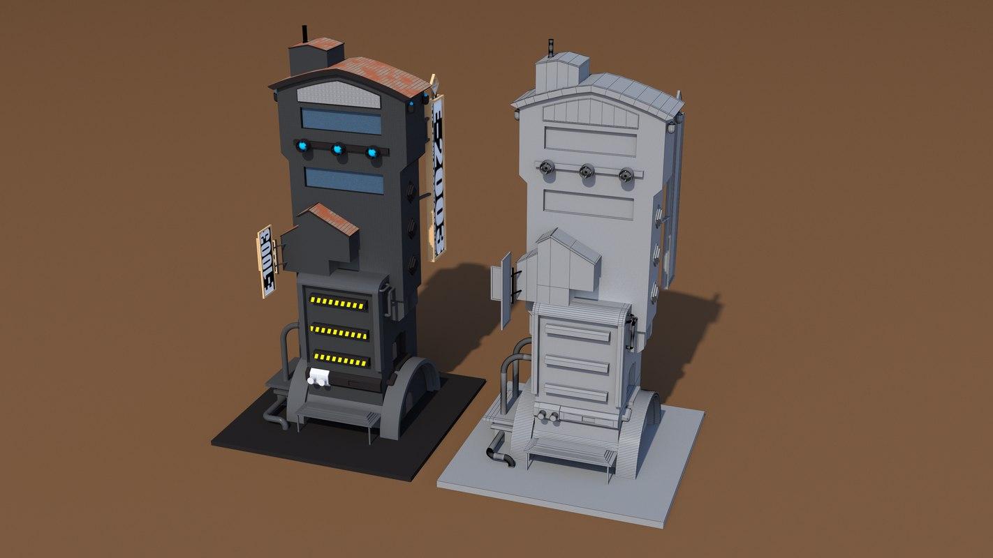 3D buildings future
