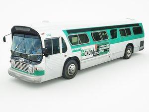 3D generic bus v1 model