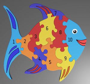 3D number puzzle