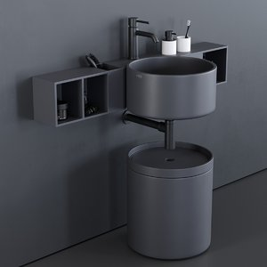 sella washbasin 3D model
