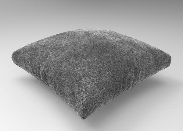 3D model interior pillow