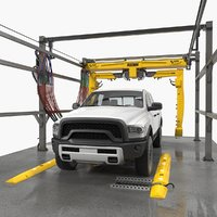 carwash fastrak touch pickup truck model