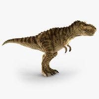tyrannosaurus rex trex animation 3d model