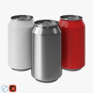 can soda 3D model