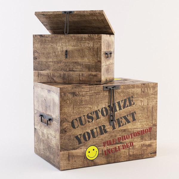 3D box customize