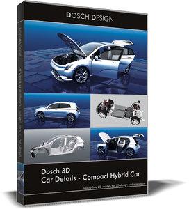 3D car details - compact model