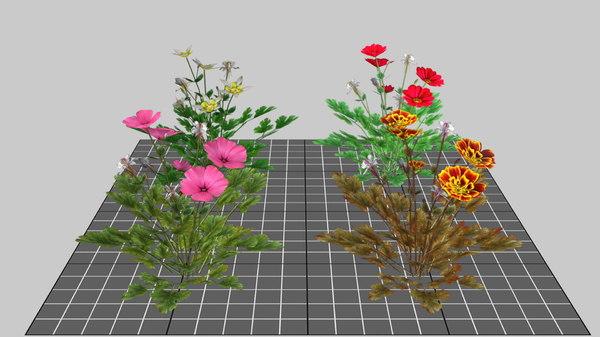 mobile bush 3D model