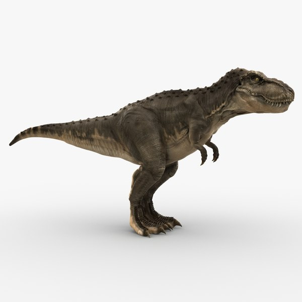 tyrannosaurus rex rigged trex 3d ma