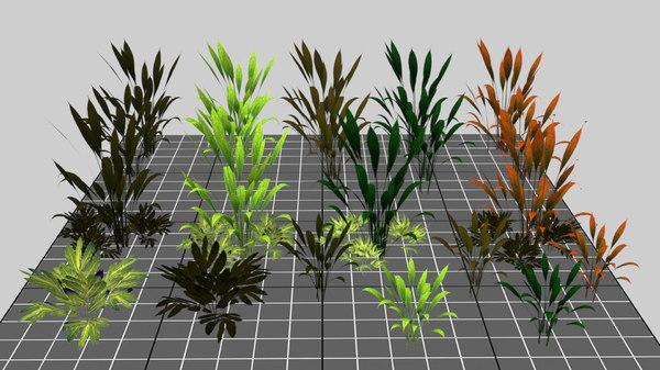 3D mobile bush model