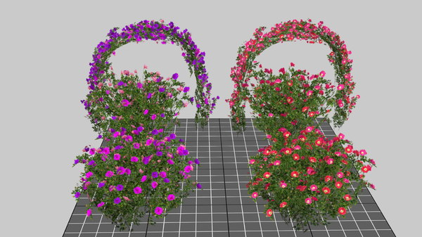 3D mobile bush