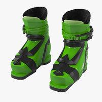 3D elan kids alpine shoes