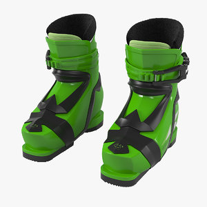 3D elan kids alpine shoes