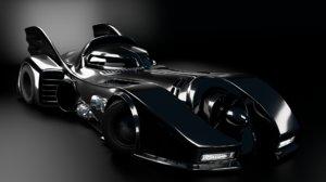 3D batmobile mobile