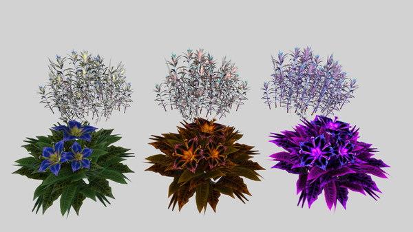 3D mobile flowers