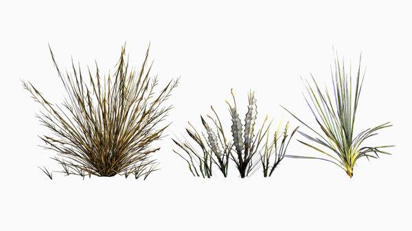 3D mobile grass