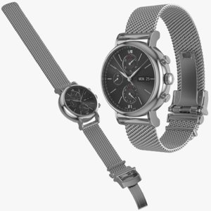 watch milanese 3D model