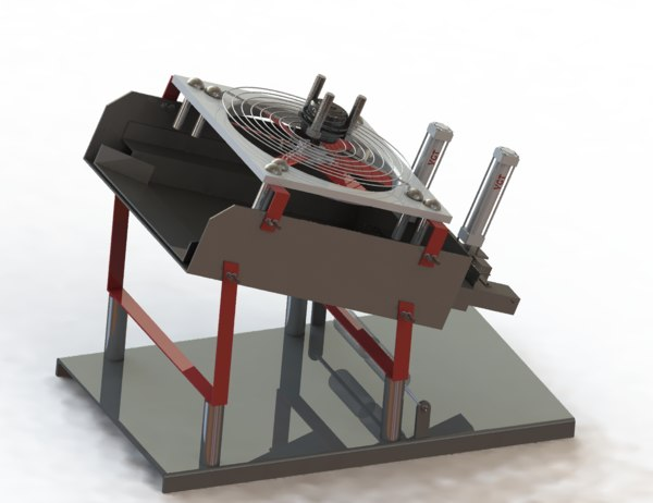 strong wind removal machine 3D
