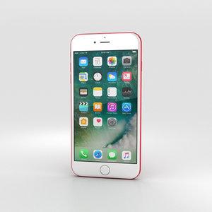 3D model iphone apple 7