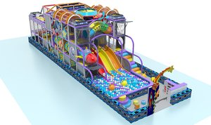 indoor playground 3D
