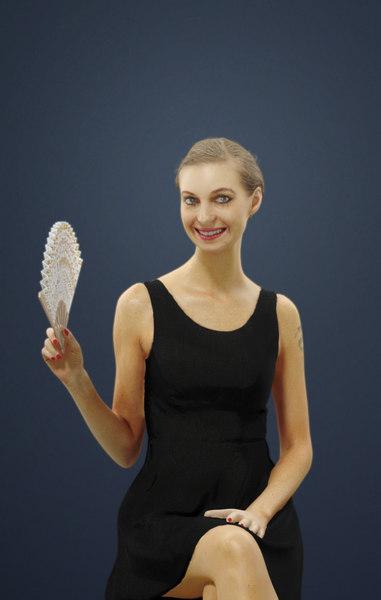 3D andrea female caucasian model