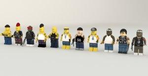 lego robbers model