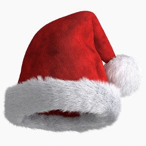 3D christmas hat model