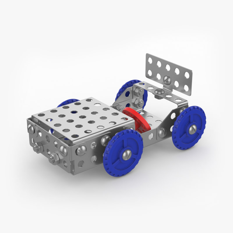 3D car constructor metal model