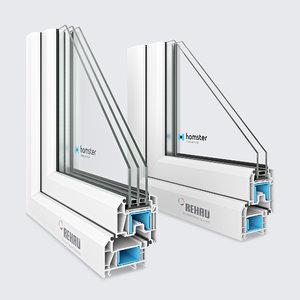 window profile 3D model