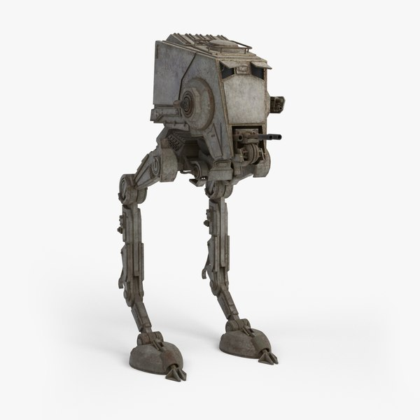 obj at-st walker star wars