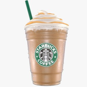 3D model starbucks coffe