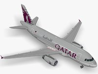 Airbus ACJ319 Qatar Amiri Flight